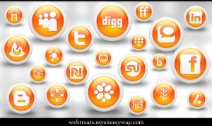 Glossy_Orange_Orb_Soc__Media_by_WebTreatsETC